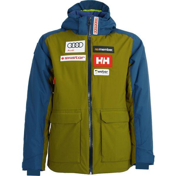 Helly Hansen Junior Team Jacket Sweden fir green