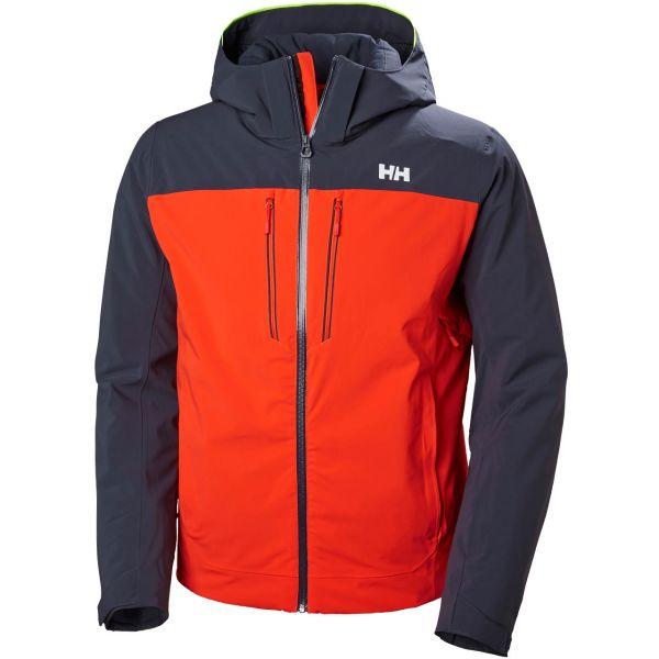 online store 3f7e9 d45dc Helly Hansen Men Jacket Signal grenadine red