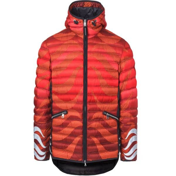 Bogner Men Down Jacket Lennox lava red