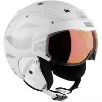 Bogner Helmet B-Visor Flames white